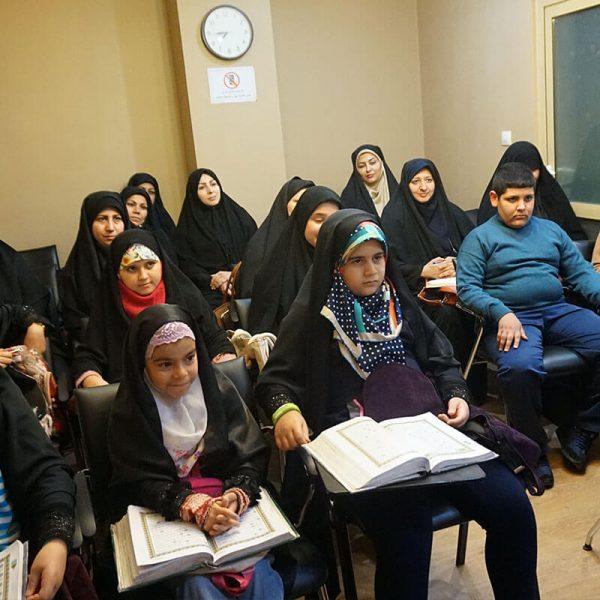 کلاس حفظ قرآن آنلاین